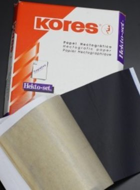 KORES - Hectografic Transfer Paper