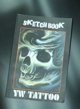 YW Tattoo Sketch Book