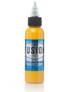 Fusion Tattoo Ink - Yellow Ochre 30ml.