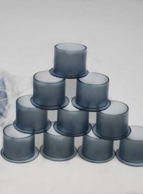 Gray Self Stand Ink Cups