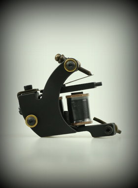 Tattoo Machine Black Shader
