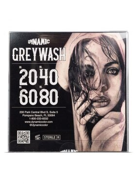 Dynamic Tattoo Ink - Grey Wash Set 4x120ml. (4oz.)