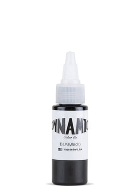 Dynamic Tattoo Ink - Black - 30ml.(1oz.)