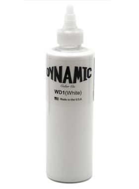 Dynamic Tattoo Ink - White - 240ml.(8oz.)
