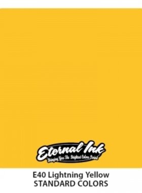Eternal Tattoo Ink - Lightning Yellow 30ml.