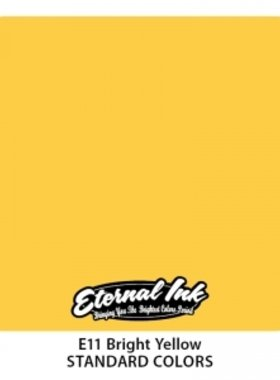 Eternal Tattoo Ink - Bright Yellow 30ml.