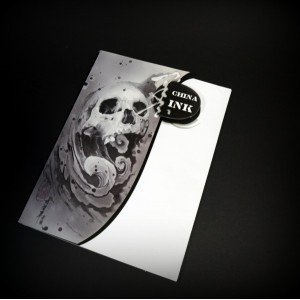 China Ink Tattoo Book