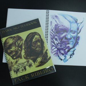 Jack Ribero - Dark Sketch Book Vol.3