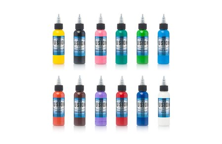 Fusion Tattoo Ink - 12 Color Set