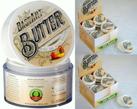 Промоция от BartArt - BartArt Tattoo Butter 40x20ml + (безплатен) 1x BastArt Tattoo Butter 200ml.