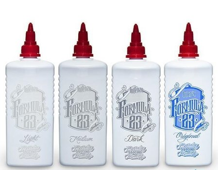 IntenZe Tattoo Ink - Formula 23 Complete Set 4x10oz./295ml.