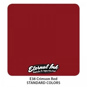 Eternal Tattoo Ink - Crimson Red 30ml.