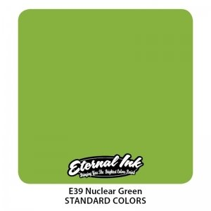 Eternal Tattoo Ink - Nuclear Green 30ml.