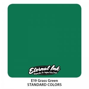 Eternal Tattoo Ink - Grass Green 30ml.