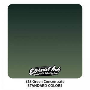 Eternal Tattoo Ink - Green Concentrate 30ml.