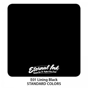 Eternal Tattoo Ink - Lining Black