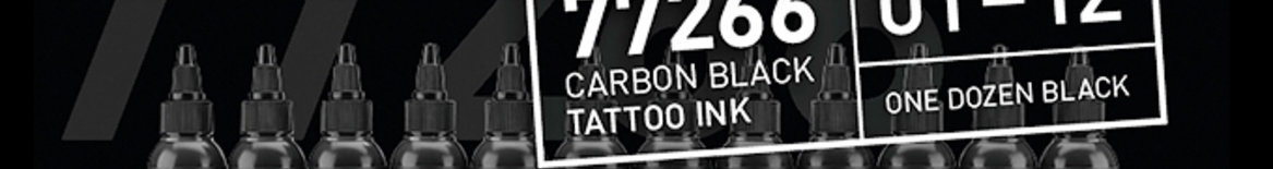 Carbon Black Tattoo Ink (by Bullets Tattoo Ink)